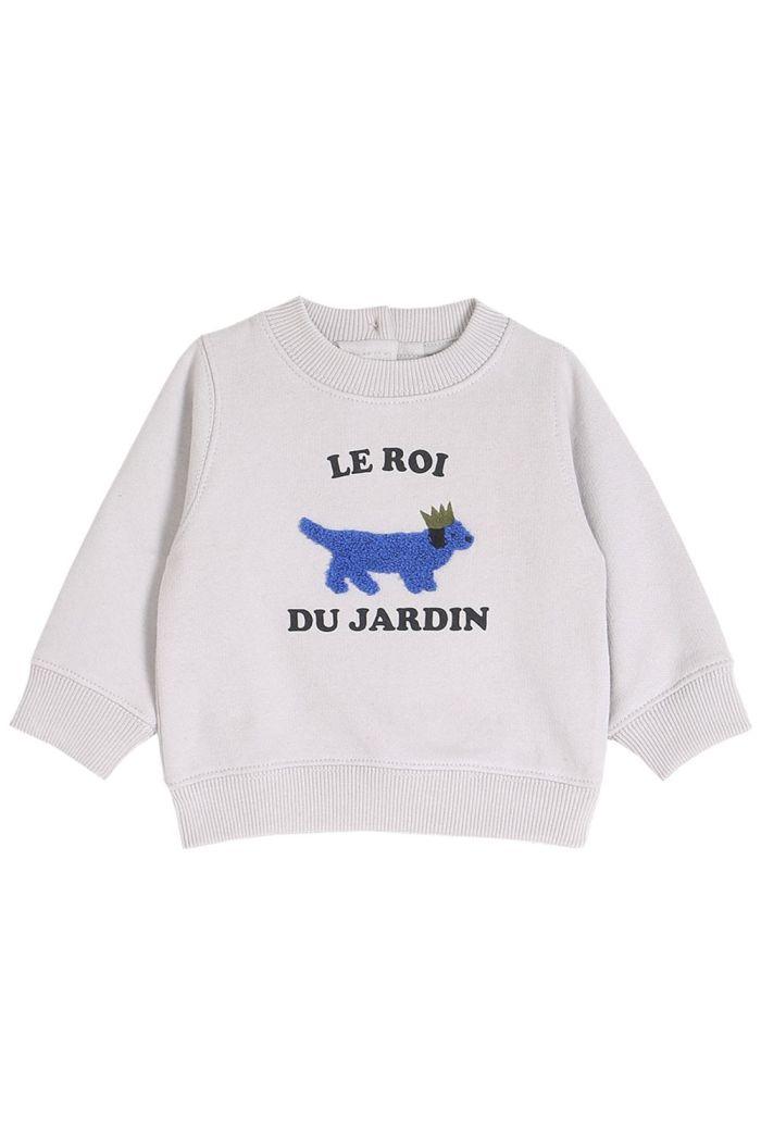 Emile et Ida Sweatshirt Roi Jardin Brume_1
