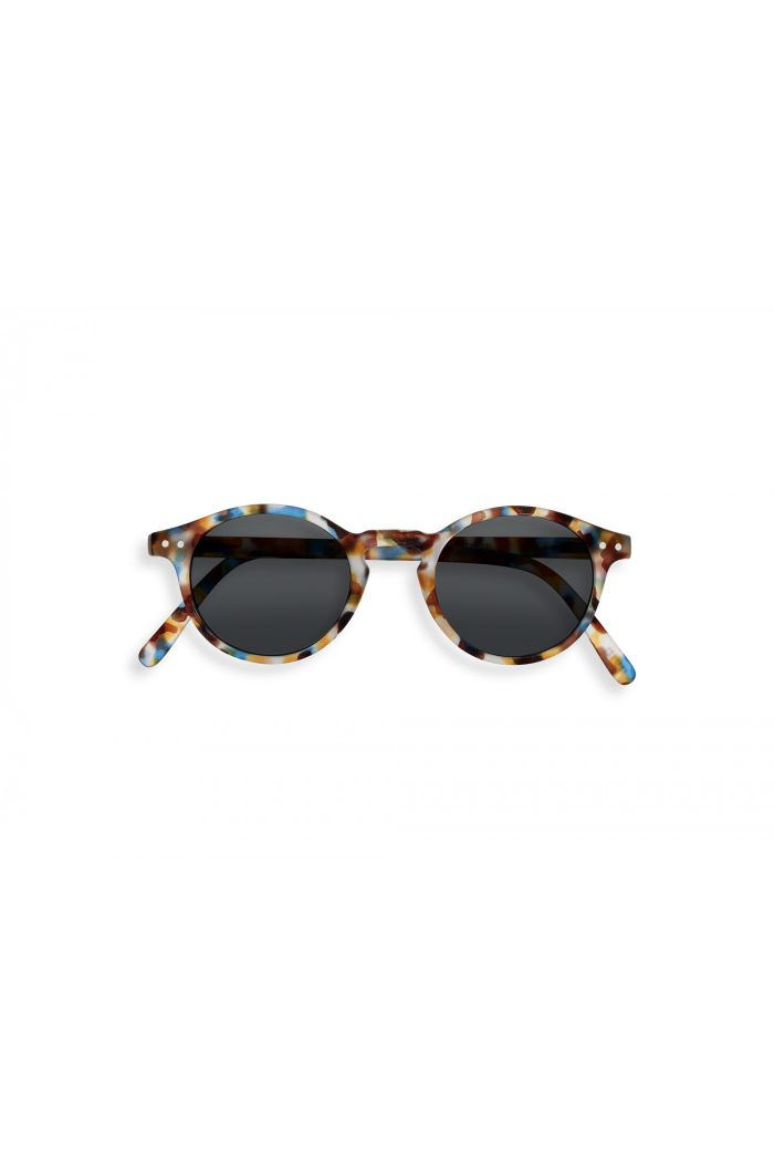 Izipizi #H SUN Sunglasses Blue Tortoise - Grey Lenses