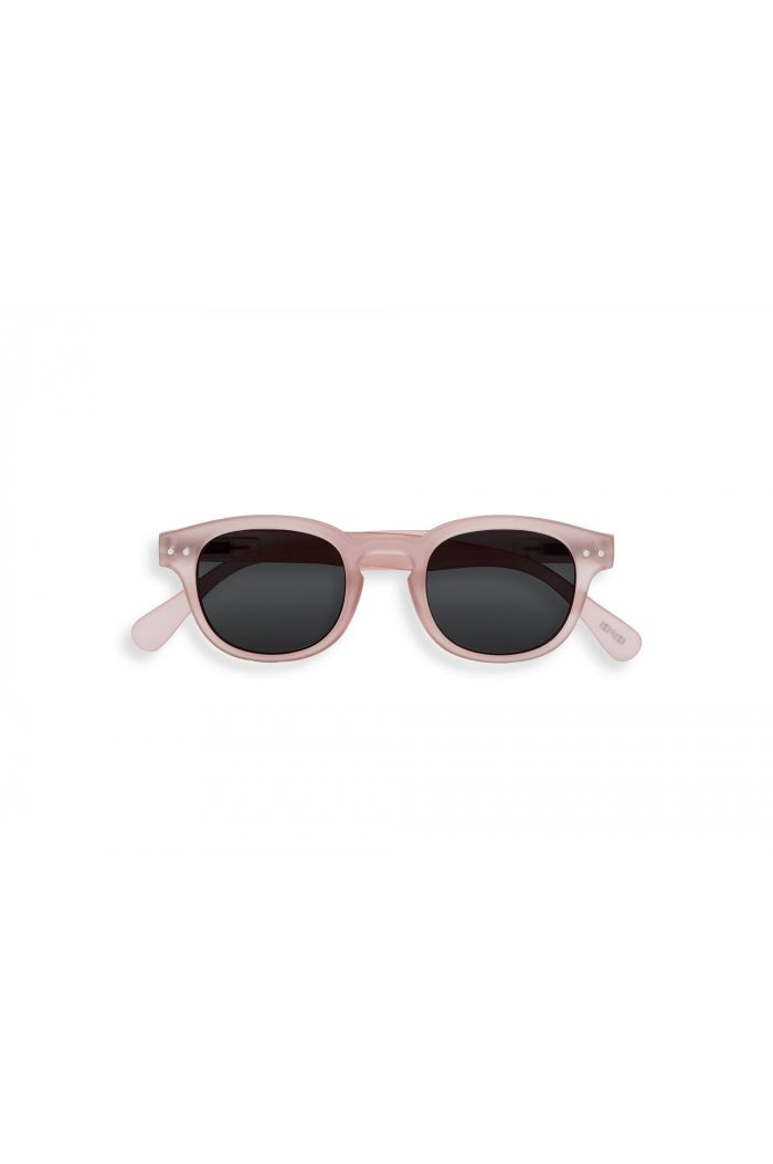 Izipizi Junior SUN #C JUNIOR Sunglasses Pink - Grey Lenses