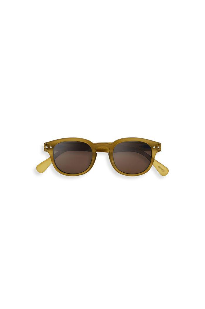 Izipizi Junior SUN #C Sunglasses Bottle Green_1