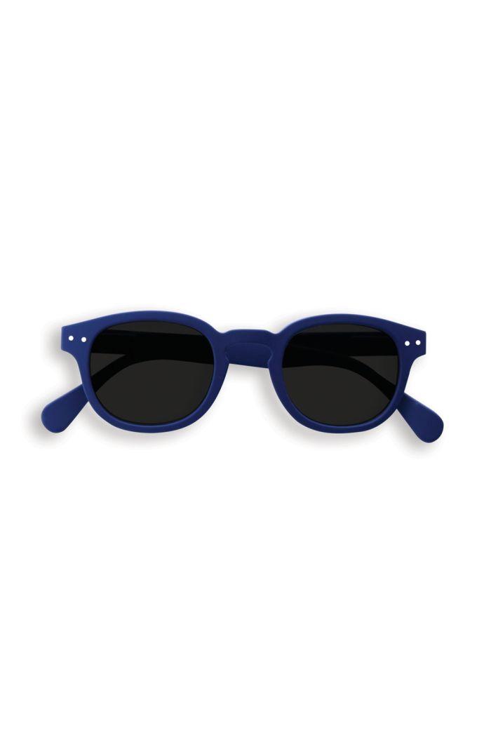Izipizi Junior SUN #C Sunglasses Navy Blue