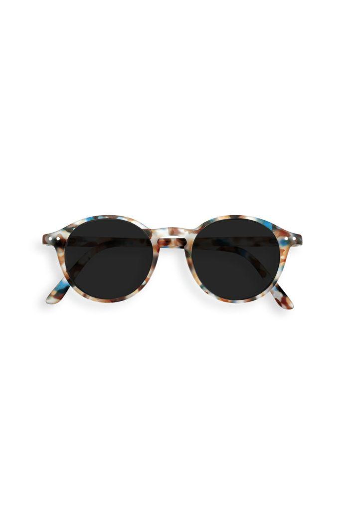 Izipizi Junior SUN #D Sunglasses Blue Tortoise - Grey Lenses