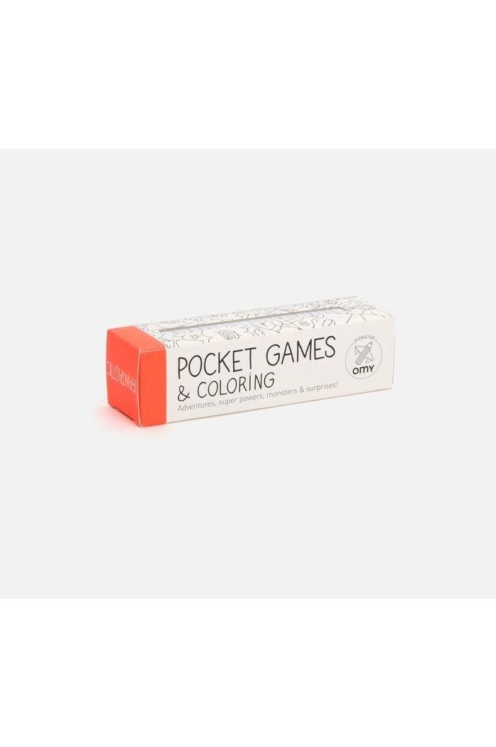 OMY Pocket Games & Coloring Fantastic