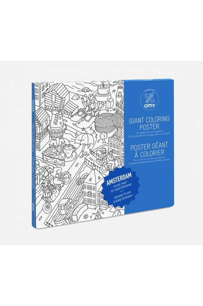 OMY Giant Coloring Poster Amsterdam_1