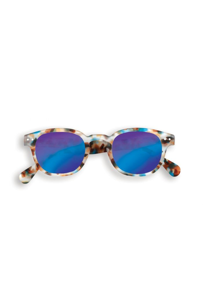 Izipizi Junior SUN #C Sunglasses Blue Tortoise