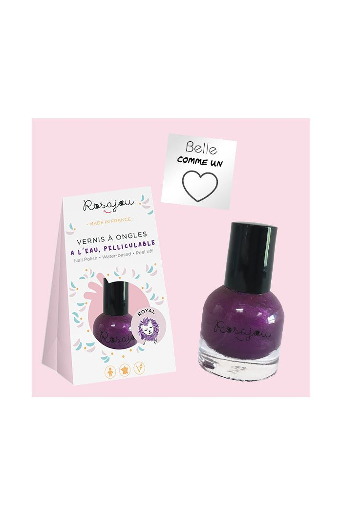 Rosajou Nail Set Royal Paars _1