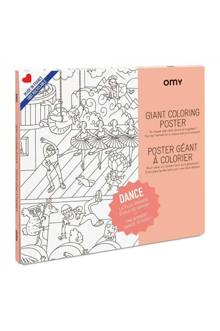 OMY Giant Coloring Poster Dance_1