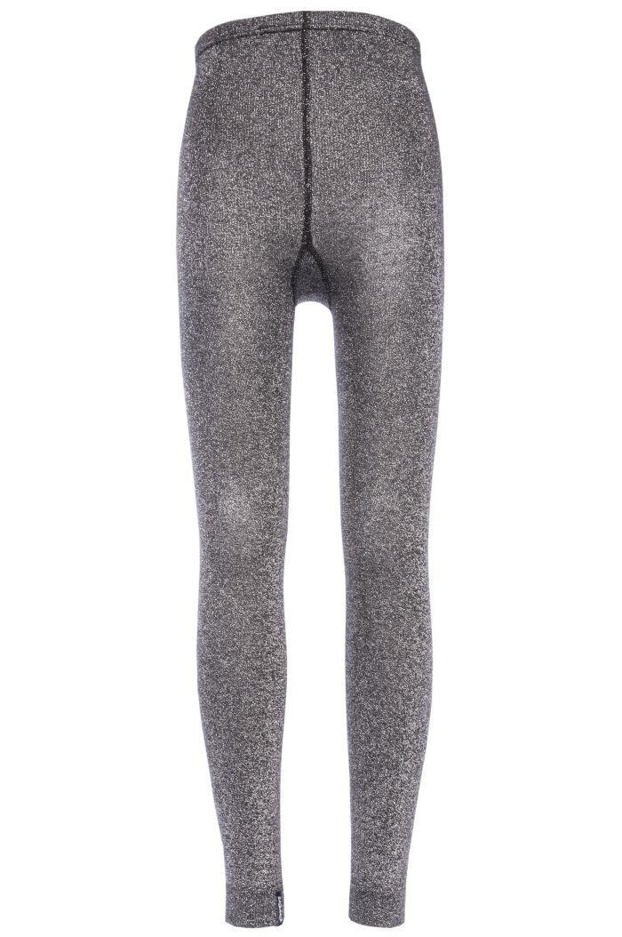 Ewers legging glitter Glitter zwart zilver (4602)