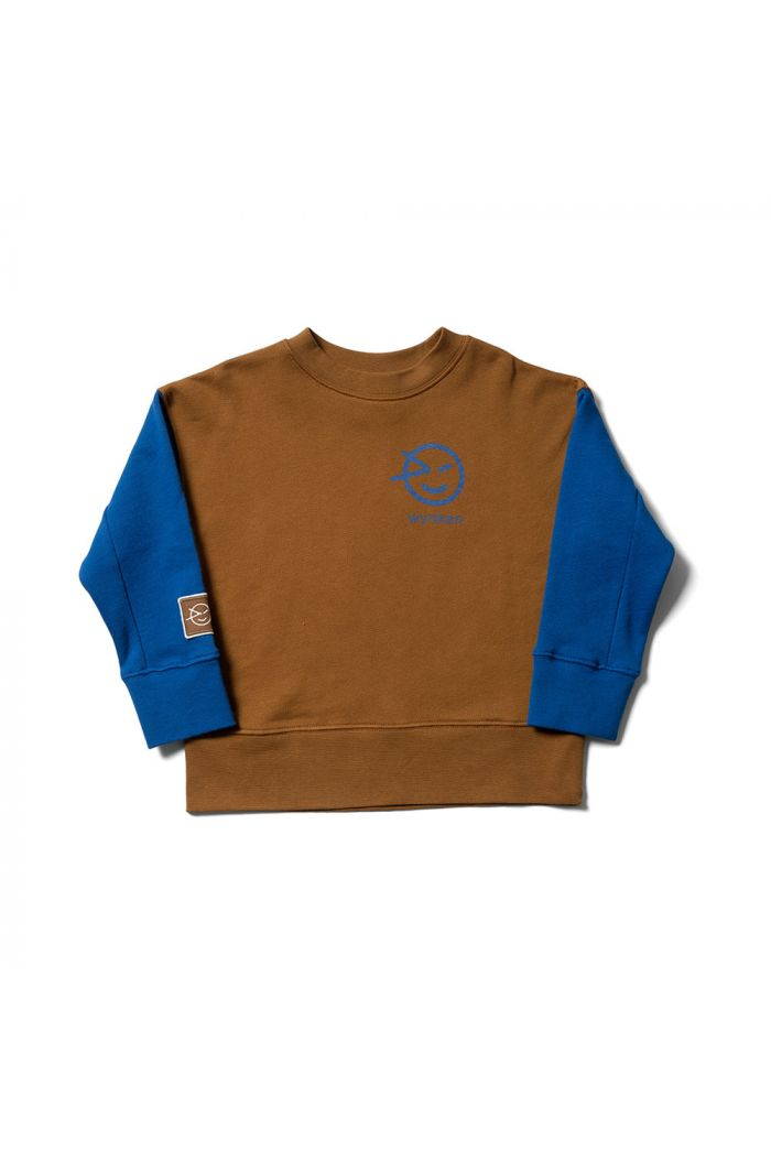 Wynken Mix Sweat Otomi Blue / Rubber_1