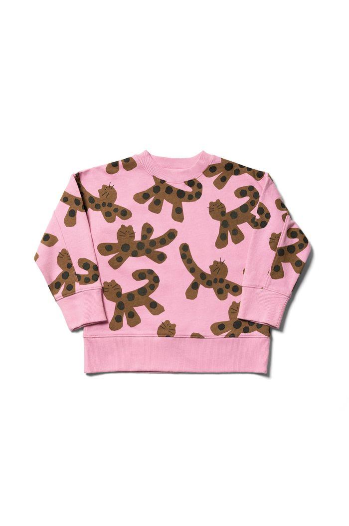 Wynken Slouch Sweat Mallow Pink / Umber_1