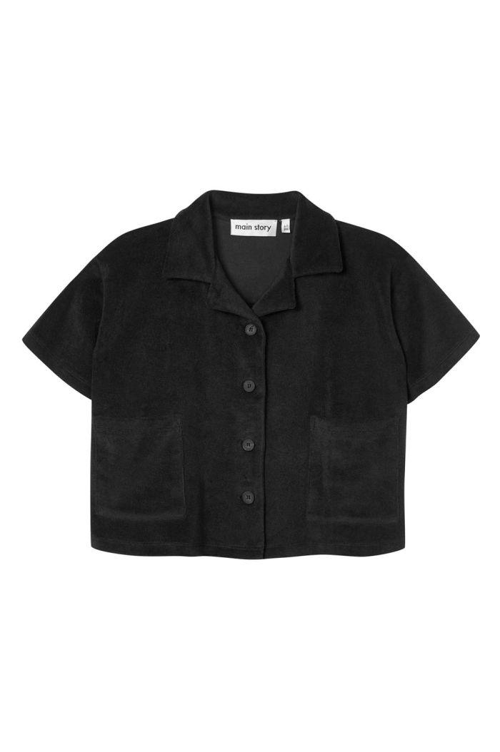 Main Story Boxy Shirt Phantom_1