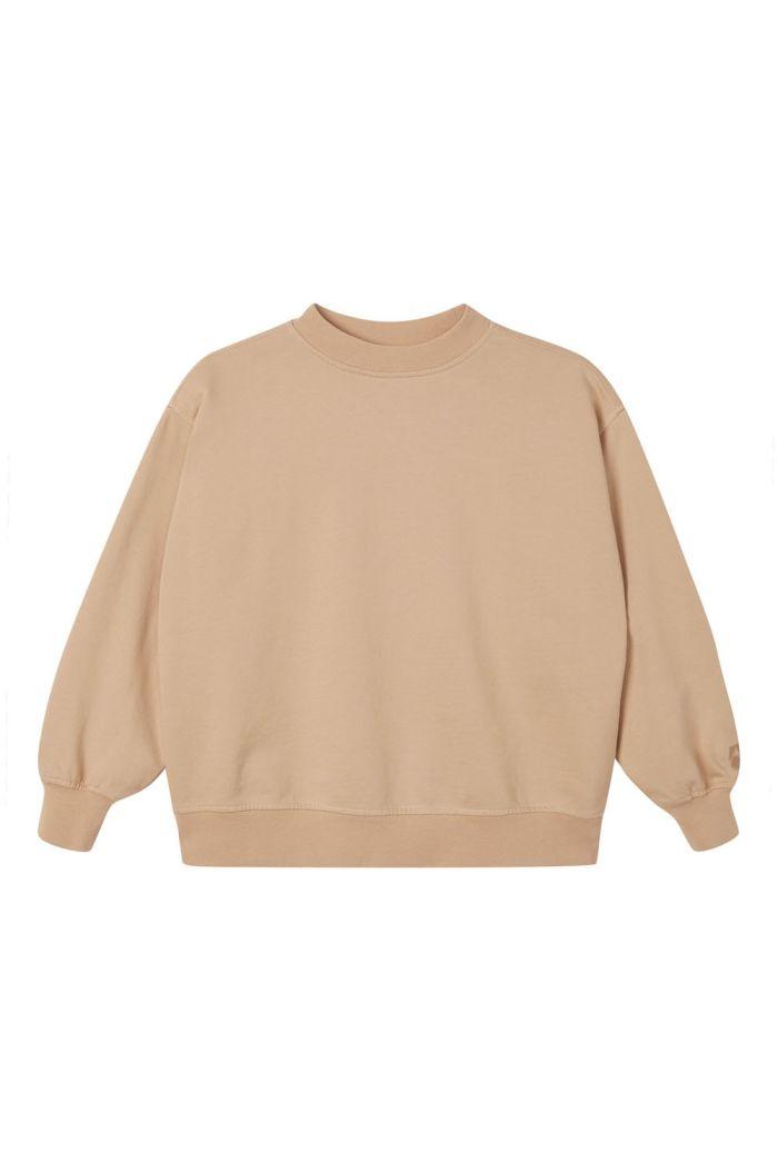 Main Story Oversized Sweatshirt Plaster_1