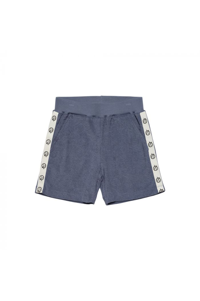 Wynken Track Short Blue Terry