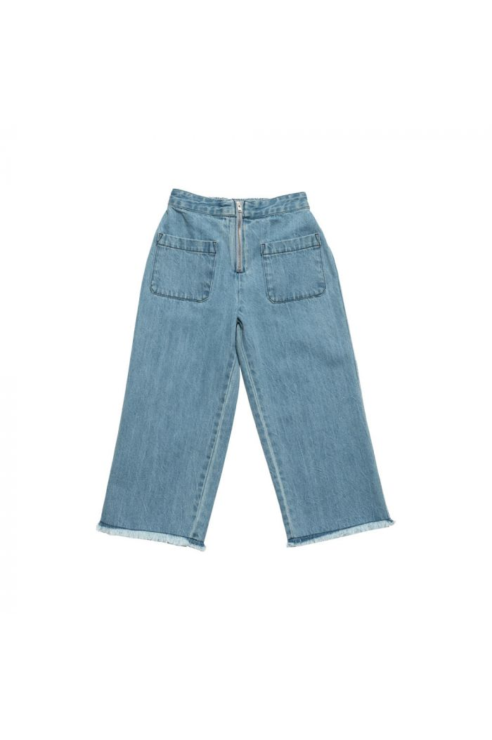 Wynken Ayers Parallel Pant Light Bleached Denim