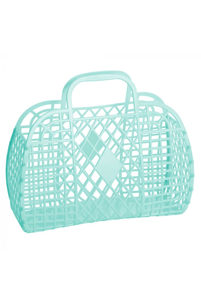 Sun Jellies Retro Basket Large Mint