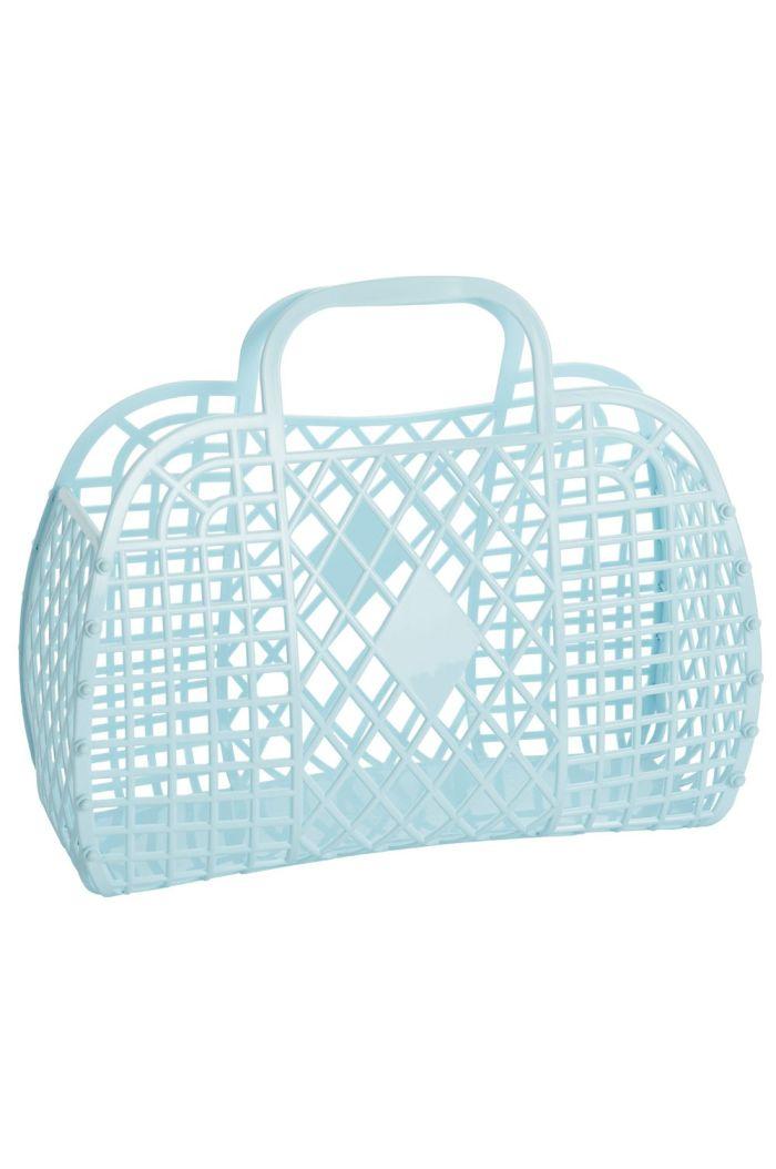 Sun Jellies Retro Basket Large Blue
