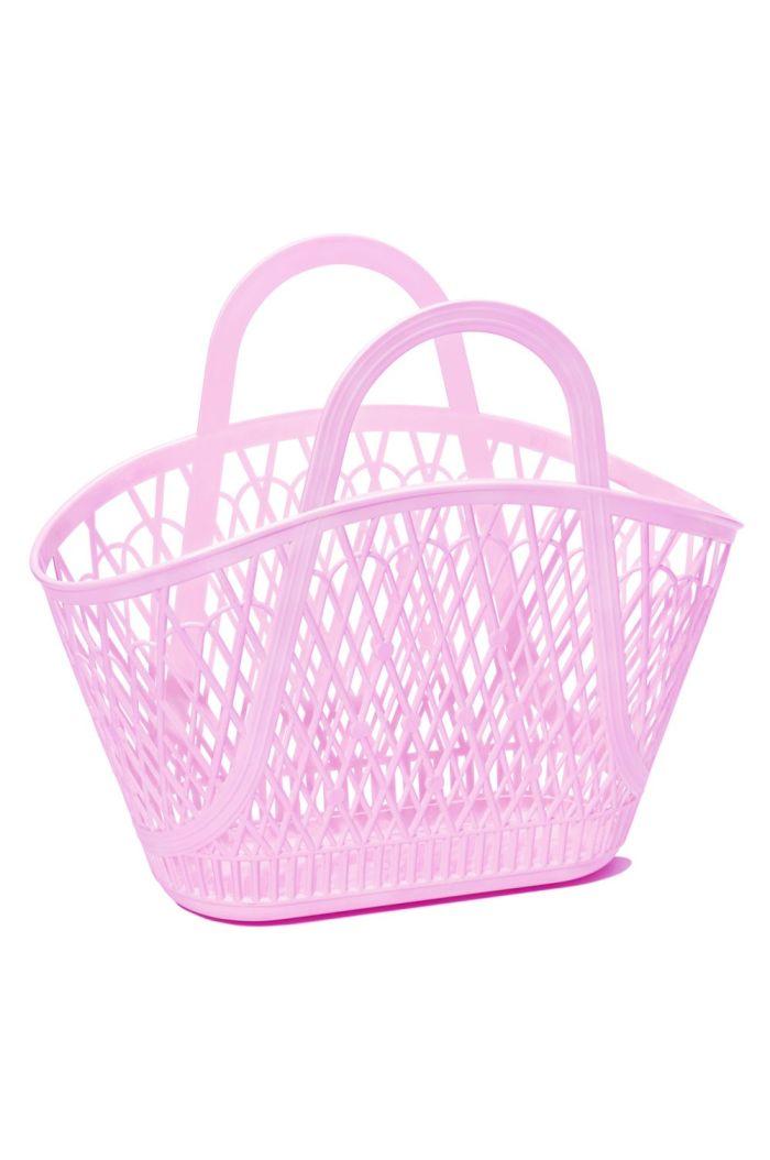 Sun Jellies Betty Basket Lilac