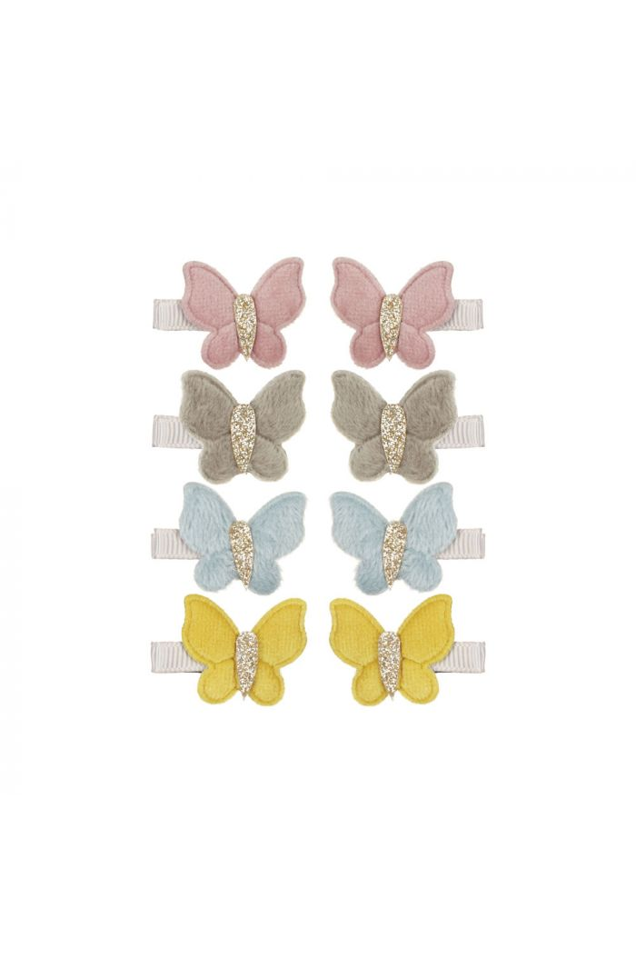 Mimi & LulaVelvet Butterfly Clips Florence _1