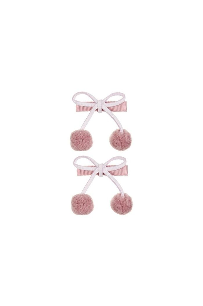 Mimi & Lula Pom Pom Cherries Clic Clacs Heather