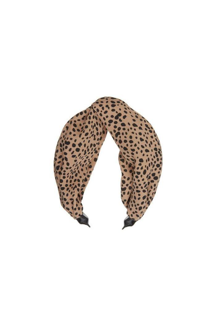 Mimi & Lula Leopard X Wide Alice Brown