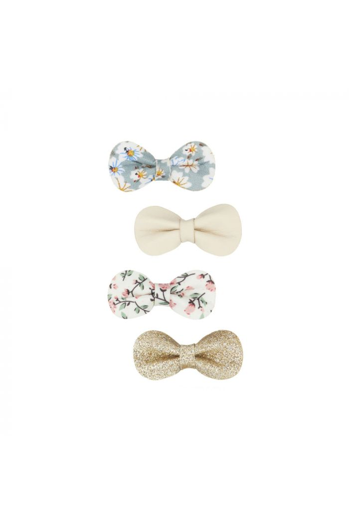 Mimi & Lula Floral Gracie Bow Clips Bloom