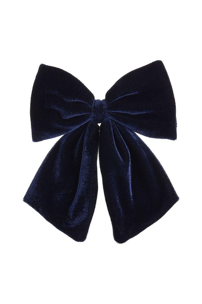 Mimi & Lula Wonderland Velvet Bow Clip _1