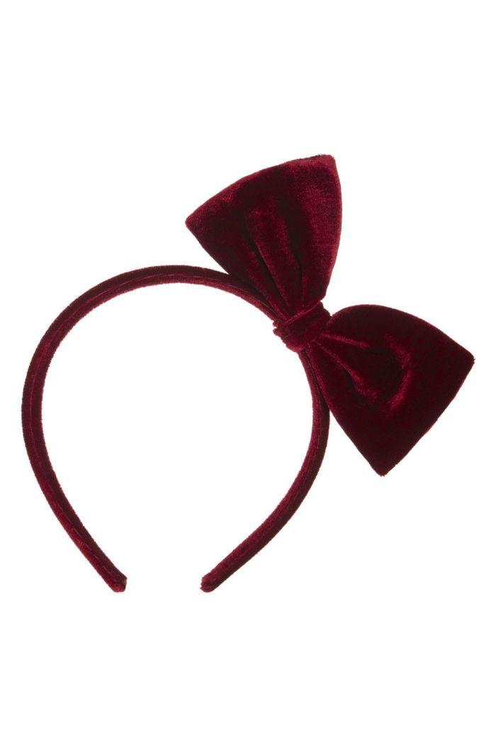 Mimi & Lula Wonderland Velvet Bow Alice _1
