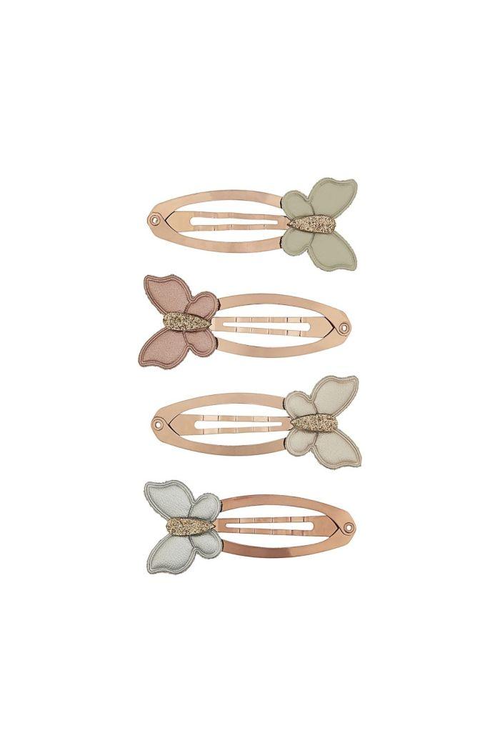Mimi & Lula 4x Shimmer Butterfly Clic Clacs _1