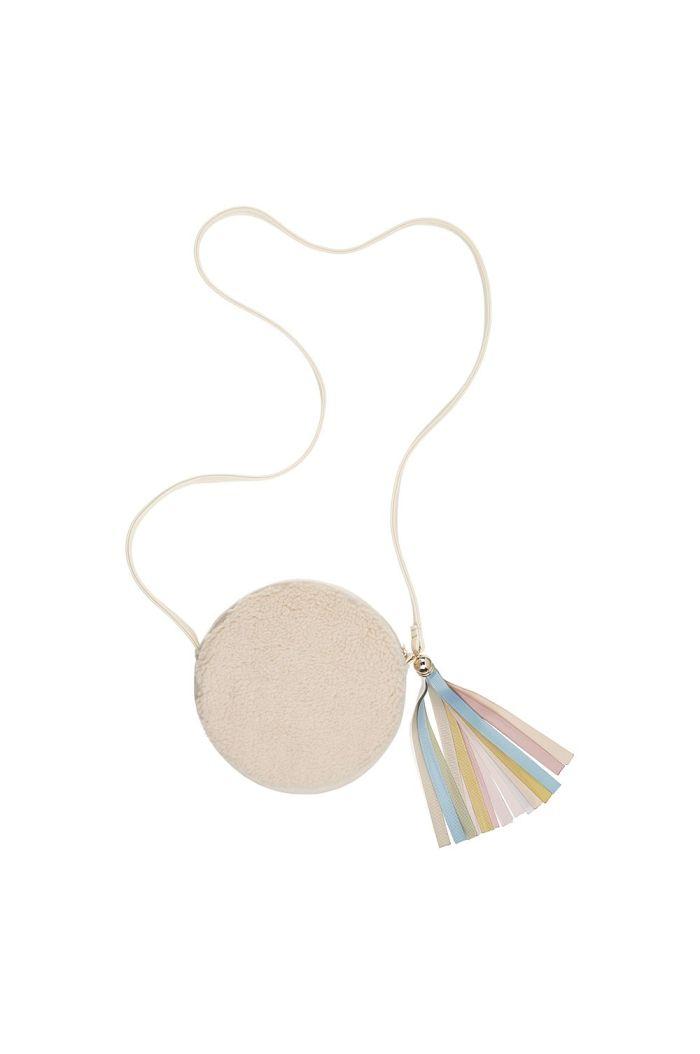 Mimi & Lula Fleece & Ribbon Tassel Bag _1