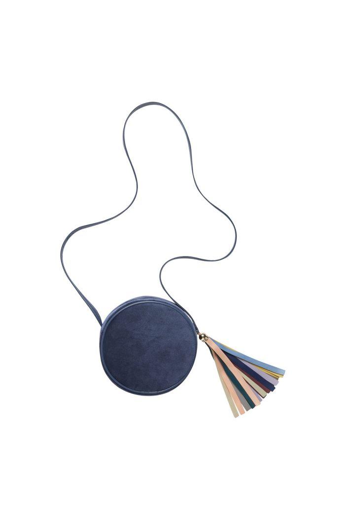 Mimi & Lula Velvet & Ribbon Tassel Bag _1