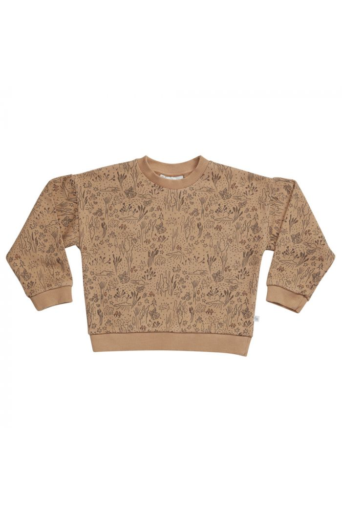 Blossom Kids Sweater Autumn Forest, Almond_1