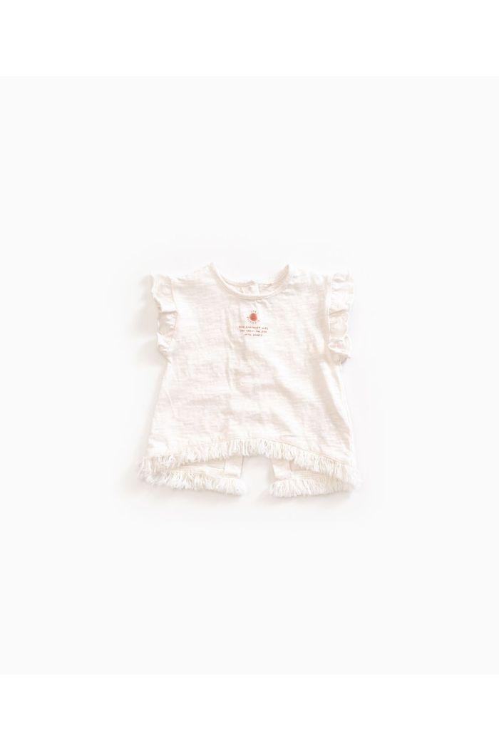 Play Up Flamé Jersey T-shirt Anti-UV Girl Pearl