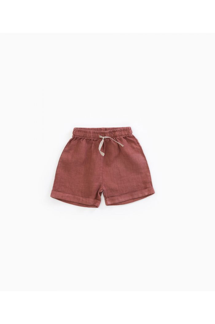 Play Up Linen  Shorts Old Tile