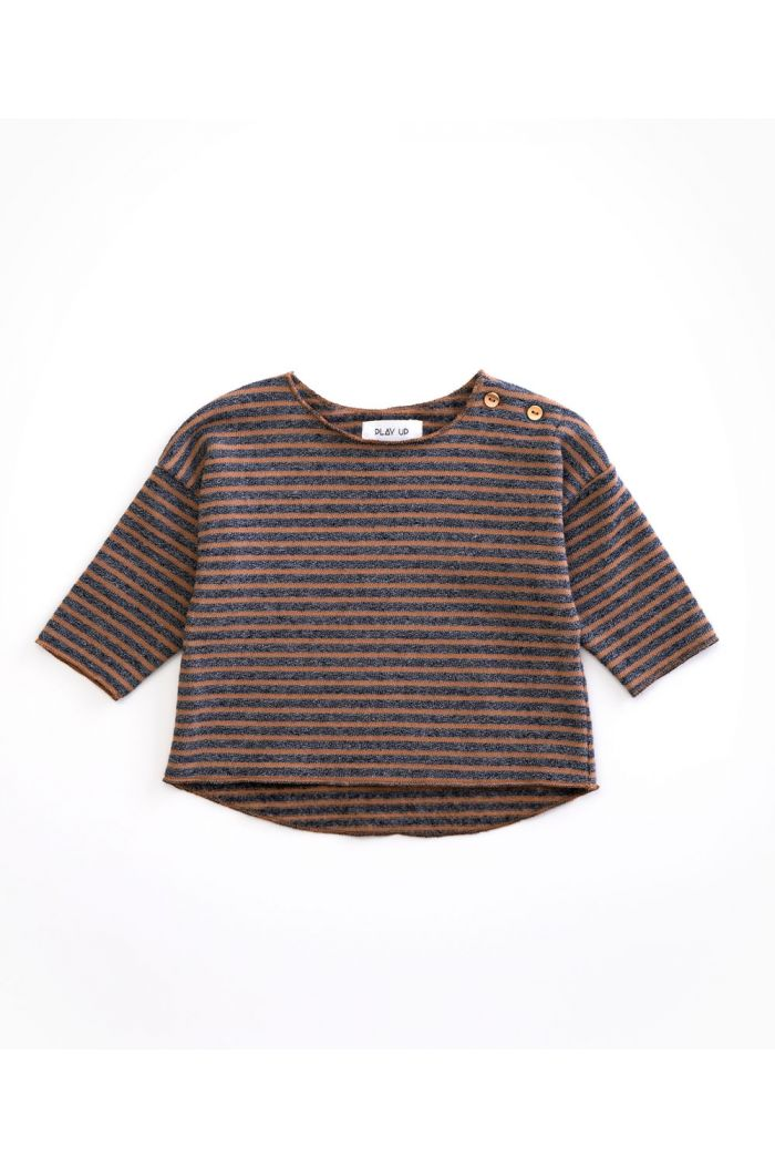 Play Up Baby Striped Jersey Sweater Cherry Tree_1