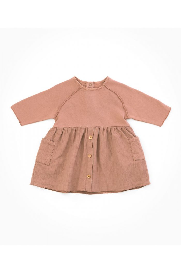 Play Up Baby Mixed Dress Jatobá_1