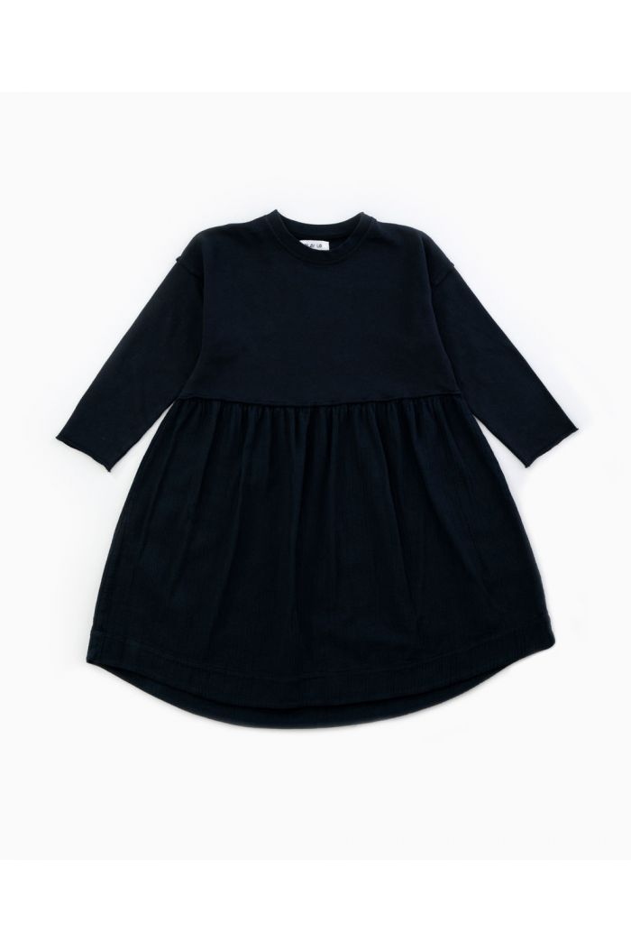 Play Up Kids Mixed Dress Rasp_1