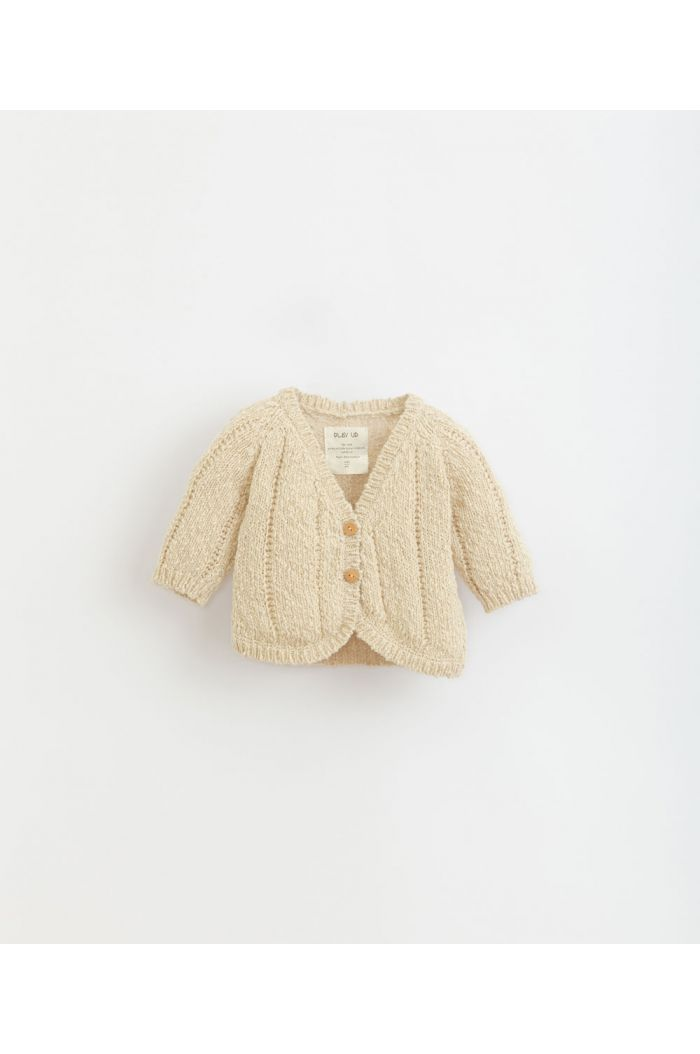 Play Up Knitted Cardigan Baby Dandelion_1
