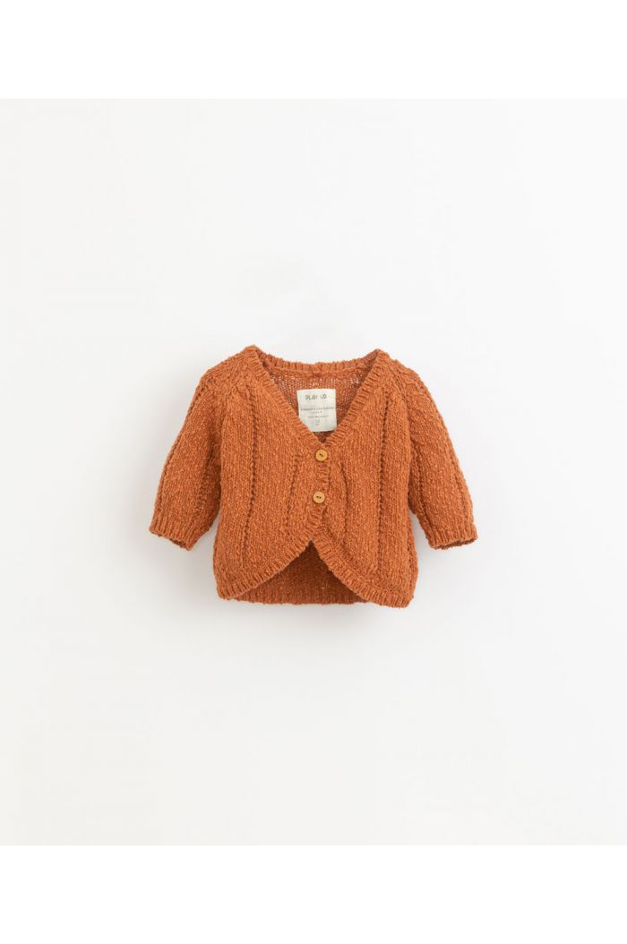 Play Up Knitted Cardigan Baby Anise_1