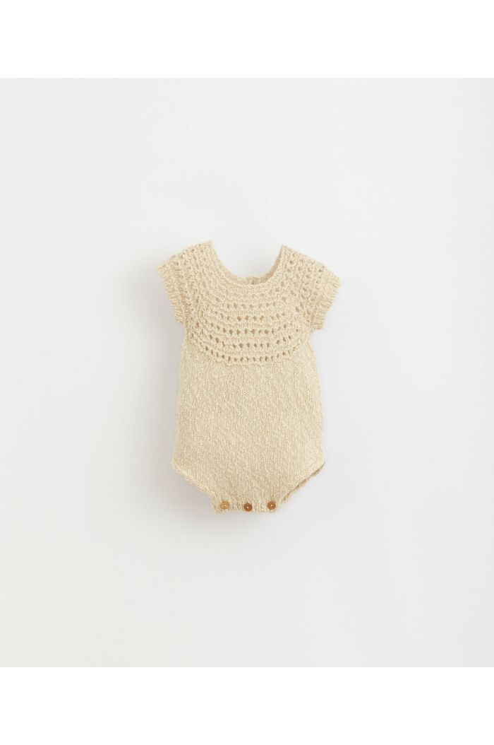 Play Up Knitted Jumpsuit Dandelion_1