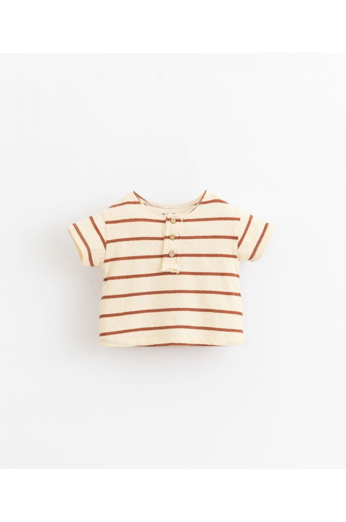 Play Up Striped Jersey Baby T-Shirt Farm_1