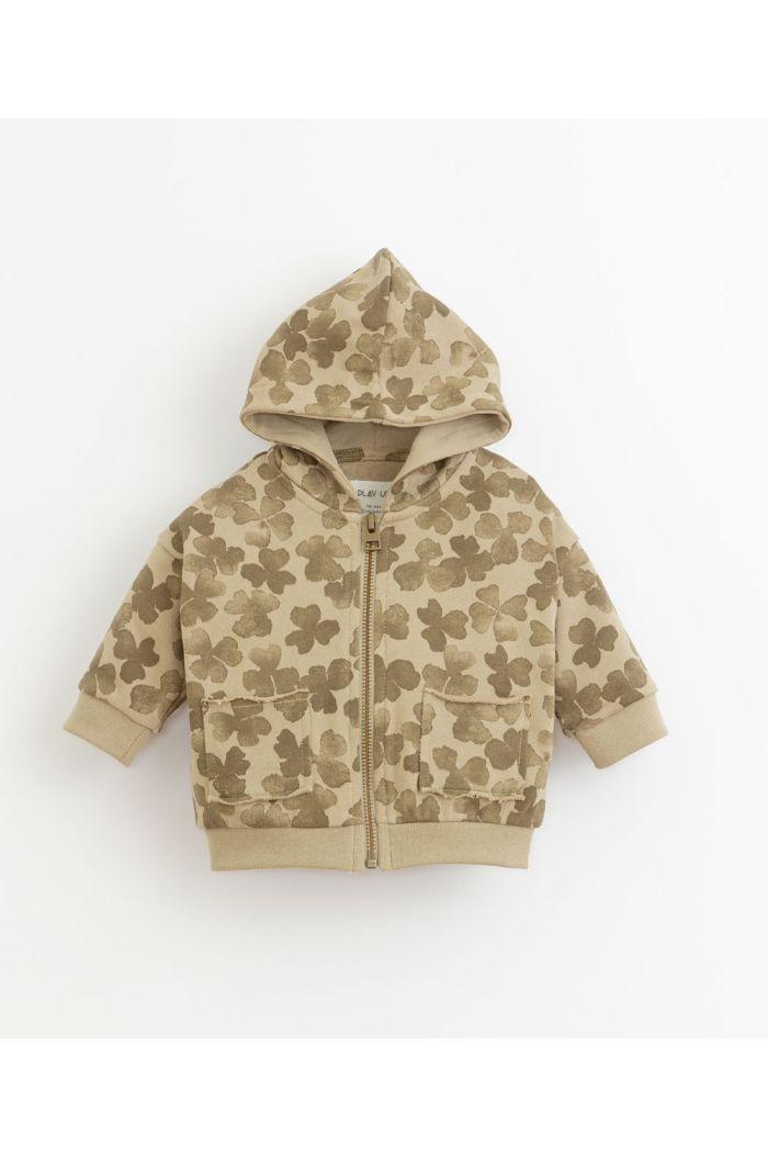 Play Up Printed Fleece Jacket João_1