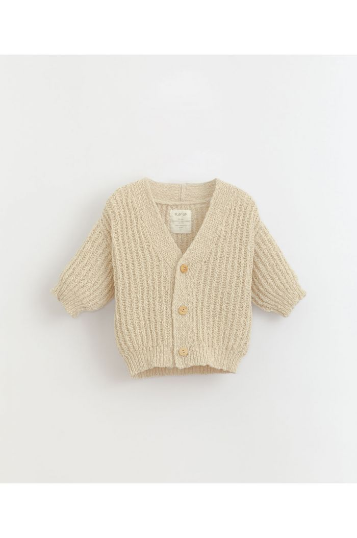 Play Up Knitted Cardigan Dandelion_1