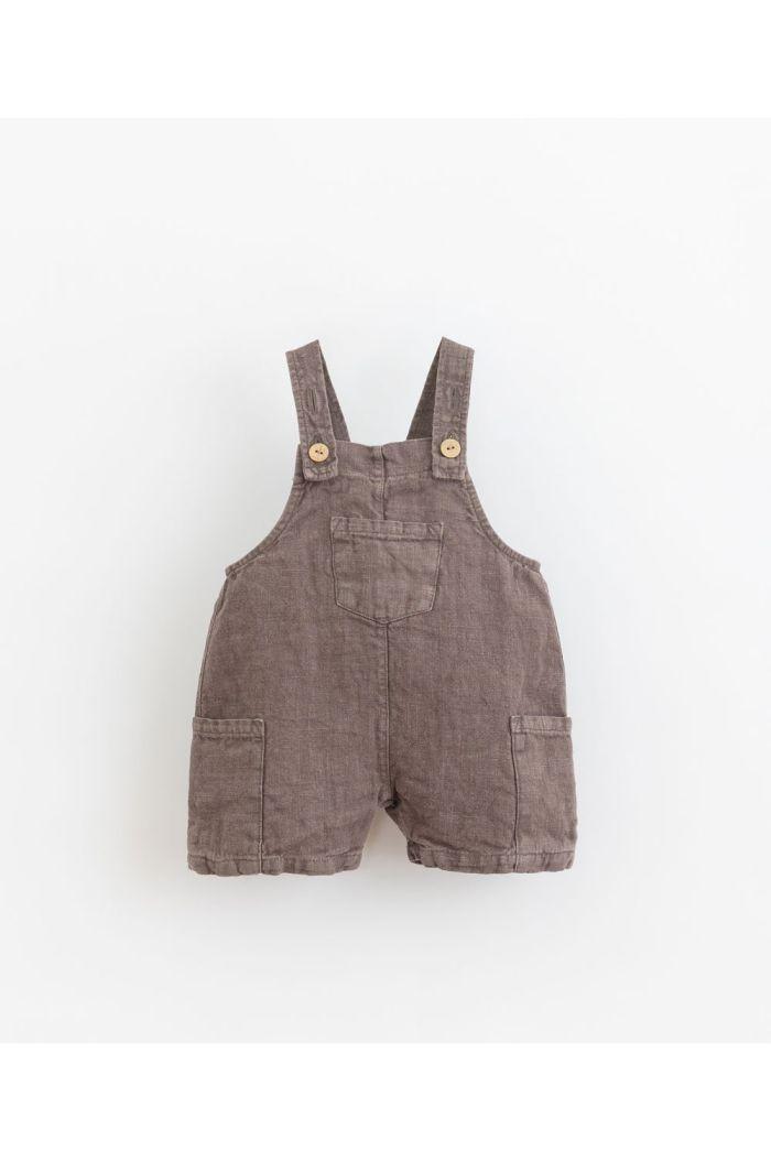 Play Up Linen Jumpsuit Short Pinha_1