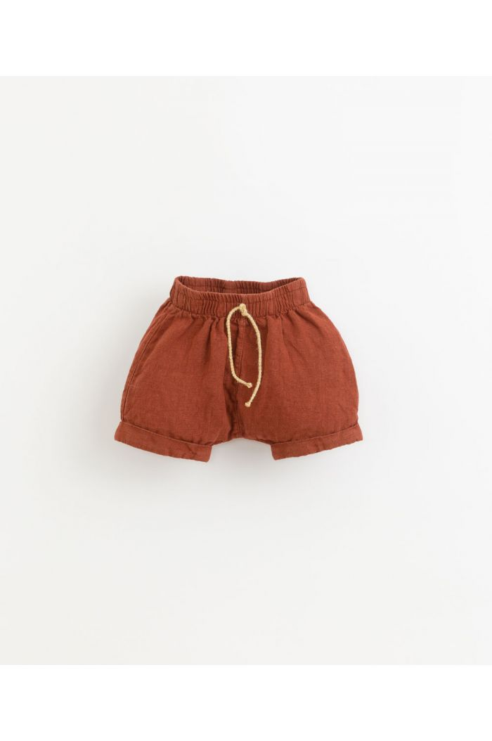 Play Up Linen Shorts Farm_1