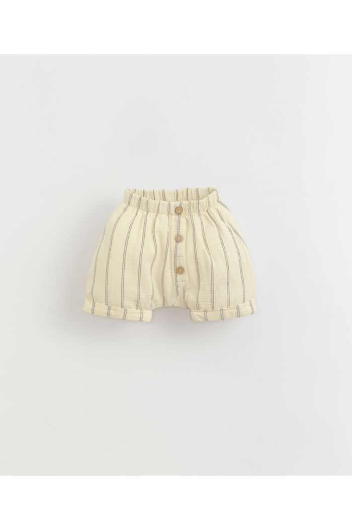 Play Up Striped Woven Shorts Dandelion_1