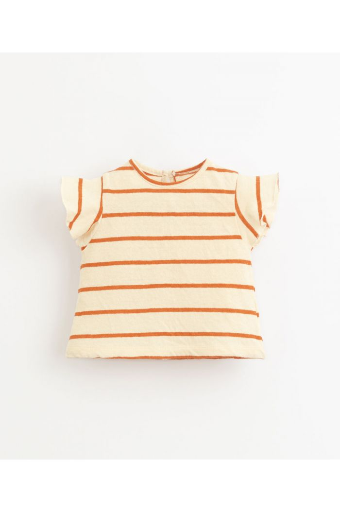 Play Up Striped Jersey T-Shirt Anise_1
