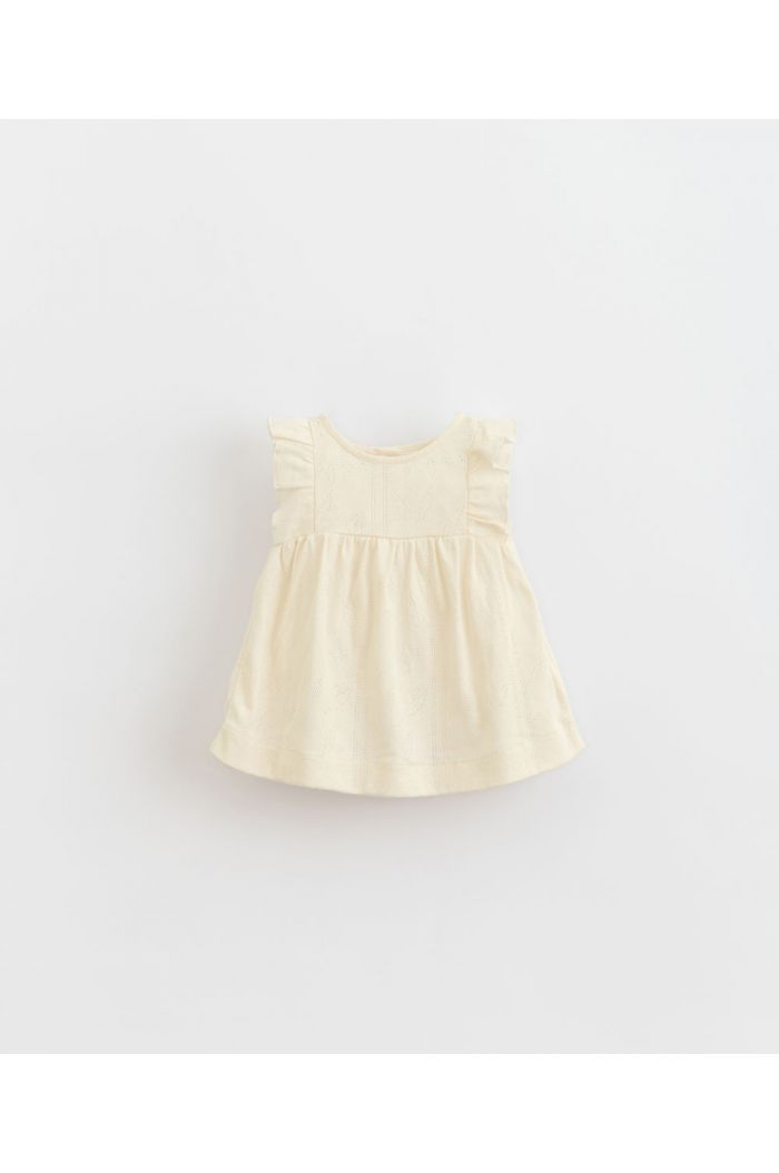 Play Up Ajour Dress Dandelion_1
