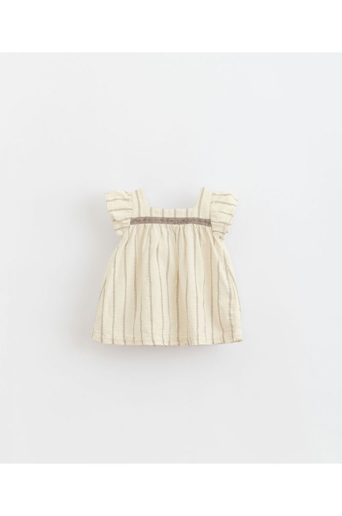 Play Up Striped Woven Dress Dandelion_1
