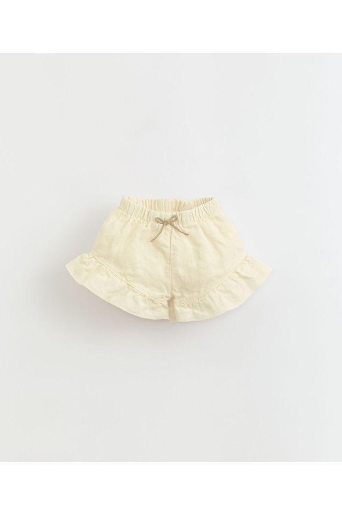 Play Up Linen Shorts Ruffle Dandelion_1