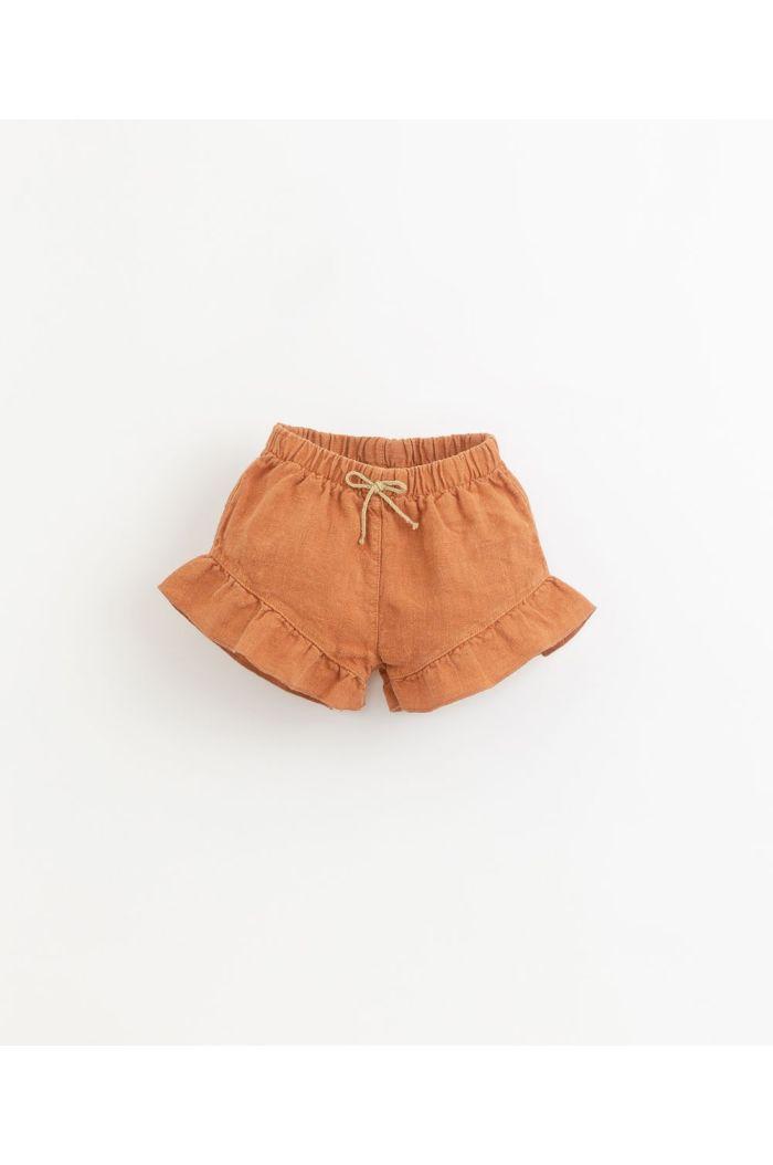 Play Up Linen Shorts Ruffle Raquel_1